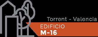 Logo EDIFICIO M-16